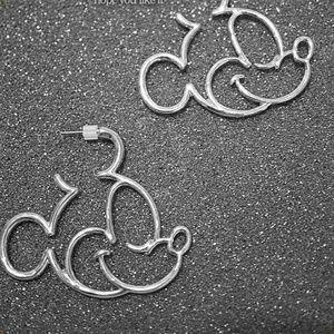 Disney Stainless Steel Mickey Mouse Earrings